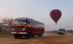 Tourists enjoy hot air balloon flights (phuong.sg@gmail.com) Tags: adventure air asia bagan balloon built burma dawn dusk early ethereal ethnicity famous flying fog heritage high hot indigenous indochina kingdom landscape majestic mandalay mist misty morning myanmar mystery orange place plain religion shrine silhouette site spirituality structure stupa sunrise sunset temple traditional transfer travel view