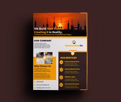 Construction flyer (Prapti Sarkar) Tags: construction flyer business work