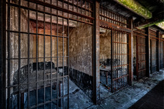 Police Station (Frank C. Grace (Trig Photography)) Tags: fallriver massachusetts unitedstatesofamerica newengland abandoned urbex urbanexploration jail bedfordstreet bedfordstreetjail historic history prison policestation bedfordstreetstation contaminated old forgotten redevelopment frpd highstreet recordsdepartment court crime criminal nikon d850 trigphotography frankcgrace on1pics decay rusty rust jailcell cell confinement 1916 hdr highdynamicrange photography