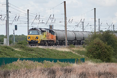 70801 (aledy66) Tags: 70801 696p 2120 oxwellmains lafarge colas west thurrock sidings fhh 6l44 sony dsc rx10m4 rx10iv rx10 diesel freight train engine loco locomotive railway railroad track rail bridge