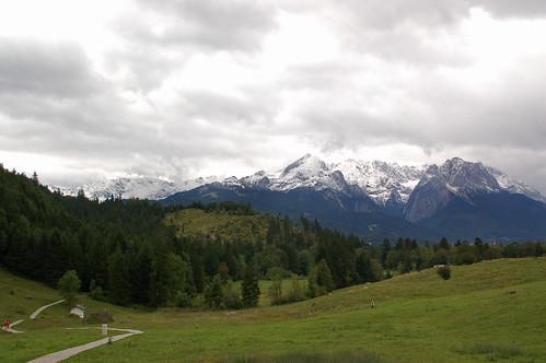 Der Kramerplateauweg (02) - Auf den Bergen Schnee, im Tal Regen: was will man mehr?