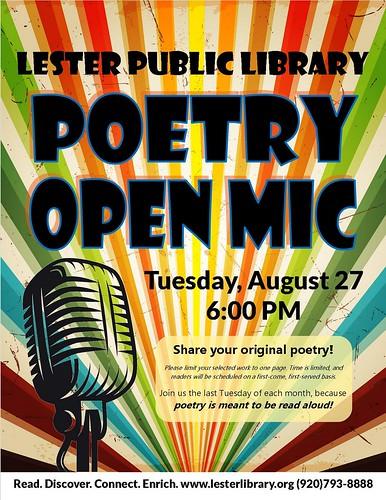 Open Poetry Mic