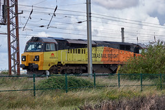 Colas 70801 (aledy66) Tags: west lafarge thurrock colas 2120 70801 696p oxwellmains railroad bridge train track diesel sony engine rail railway loco locomotive dsc freight sidings fhh rx10 6l44 rx10m4 rx10iv