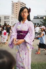 SAKURAKO - Japanese Summer Kimono. (MIKI Yoshihito. (#mikiyoshihito)) Tags: bon festival dance bonfestivaldance bondance 盆踊り japanesesummerkimono 浴衣 kimono sakurako 櫻子 さくらこ 娘 daughter サクラコ 長女 10歳10ヶ月 eldestdaughter