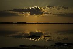 Sunset near Tatamagouche Nova Scotia (wfgphoto) Tags: sunsetinnovascotia sun clouds color water harbor