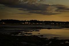 Sunset near Tatamagouche Nova Scotia copy1 (wfgphoto) Tags: sunsetinnovascotia sun clouds color water harbor