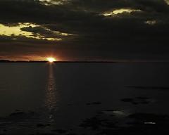 Sunset near Tatamagouche Nova Scotia copy (wfgphoto) Tags: sunsetinnovascotia sun clouds color water harbor