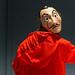 Cosplay auf der Gamescom: Kostüm stellt einen Kriminellen mit Salvador Dali Maske aus der Netflix-Serie Haus des Geldes dar