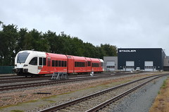 18.08.2019 (II); Spots in Limburg (chriswesterduin) Tags: train trein gtw stadler blerick qbuzz rnet treinstel werkplaats emu br merwedelingelijn