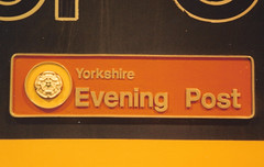 43157 (stevenjeremy25) Tags: hst 43 high speed train railway nameplate 43157 yorkshire evening post