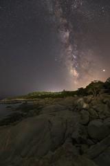 Via lattea al golfetto, Ogliastra (federicopisano15) Tags: sardegna sky night starrynight universe milkyway