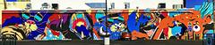 Downtown Caterwaul by Bicicleta sem Freio (wiredforlego) Tags: graffiti mural streetart urbanart aerosolart publicart lasvegas vegas las nevada bici bicicletasemfreio lifeisbeautiful