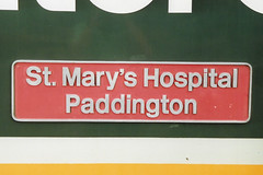 43142 1 (stevenjeremy25) Tags: hst 43 high speed train railway nameplate 43142 mary marys hospital paddington