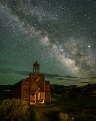 June Milky Way & Bodie Firehouse (Jeff Sullivan (www.JeffSullivanPhotography.com)) Tags: california park wild usa west abandoned town state ghost historic mining american bridgeport monocounty bodiestatehistoricpark travel copyright nature june night lens landscape photography photo nikon nikkor allrightsreserved 2019 850d jeffsullivan 1424mmf28 way bodie firehouse milky