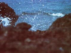 ISO 6400 (La Salsa.) Tags: sea blue dirt grain high iso water vintage splash 6400