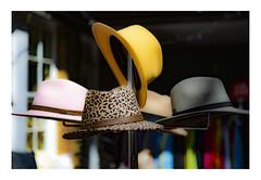 Hat Selection | Columbia Road Market, London (www.davidrosenphotography.com) Tags: columbiaroad columbiaroadmarket ma streetphotography clothes hats colour art
