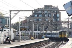 317342 Bethnal Green, London (Paul Emma) Tags: london bethnalgreen railway railroad electrictrain train 317342