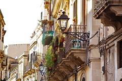 386 Sicile Juillet 2019 - Syracuse, Ortigia, les balcons Via Castello Maniace (paspog) Tags: sicile sicilia sicily ortigia syracuse juli july juillet 2019 balcons balconies balcony balkonen viacastellomaniace
