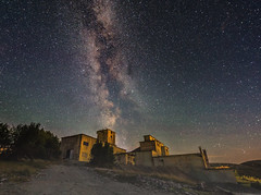 Starry Night (bjorns_photography) Tags: milkyway galaxy outdoor night stars photography factory old