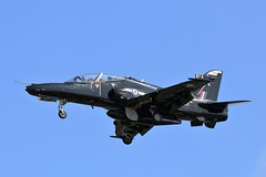 BAE Hawk T2 ZK025 - 25 Squadron RAF (Adam Fox - Plane and Rail photography) Tags: hawk t2 royal air force valley runway 31 military jet aircraft training trainer sqn 4 flying school fts british aerospace plane airplane aeroplane anglesey aviation