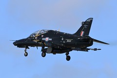 BAE Hawk T2 ZK037 - 25 Squadron RAF (Adam Fox - Plane and Rail photography) Tags: hawk t2 royal air force valley runway 31 military jet aircraft training trainer sqn 4 flying school fts british aerospace plane airplane aeroplane anglesey aviation