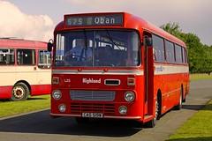 LATHALMOND 180819 CAS519W (SIMON A W BEESTON) Tags: lathalmond svbm scottishvintagebusmuseum l25 highland omnibus alexander leyland leopard psu3g4r cas519w