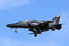 BAE Hawk T2 ZK026 - 25 Squadron RAF (Adam Fox - Plane and Rail photography) Tags: hawk t2 royal air force valley runway 31 military jet aircraft training trainer sqn 4 flying school fts british aerospace plane airplane aeroplane anglesey aviation