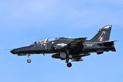 BAE Hawk T2 ZK028 - 25 Squadron RAF (Adam Fox - Plane and Rail photography) Tags: hawk t2 royal air force valley runway 31 military jet aircraft training trainer sqn 4 flying school fts british aerospace plane airplane aeroplane anglesey aviation