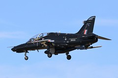 BAE Hawk T2 ZK033 - 25 Squadron RAF (Adam Fox - Plane and Rail photography) Tags: hawk t2 royal air force valley runway 31 military jet aircraft training trainer sqn 4 flying school fts british aerospace plane airplane aeroplane anglesey aviation
