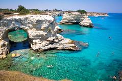 Arco di Torre Sant'Andrea (Valdy71) Tags: puglia apulien apulia italy italia faraglioni sea seascape seaside landscape water cristal travel nikon valdy