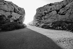 Into The Light (alex notag) Tags: light blackandwhite bw marseille frioul îles landscape