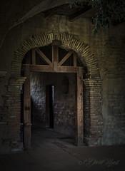 Passage (david.horst.7) Tags: stone arch timbers beams passage archway light dark shadows