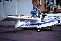 G-AXZN   Thurston TSC-1A Teal [008] Cranfield~G  02/09/1971 (raybarber2) Tags: 008 airportdata cn008 cancelled egtc filed flickr floatplane gaxzn johnbabbagecollection planebase single slide ukcivil writtenoff