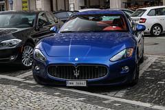 Polan (Warsaw-Zoliborz) - Maserati GranTurismo S (PrincepsLS) Tags: poland polish license plate wx warsaw spotting maserati granturismo s
