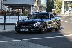 Poland (Warsaw-Zachodni) - Mercedes-AMG GT C190 (PrincepsLS) Tags: poland polish license plate wz warsaw zachodni spotting mercedesamg gt c109