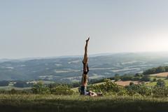 (dimitryroulland) Tags: nikon d750 85mm 18 dimitryroulland france natural light green acro yoga acroyoga performer art artist handstand balance duo couple