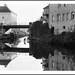 Port sur Saône, reflets