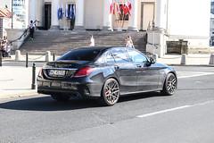Poland (Warsaw-Zachodni) - Mercedes-AMG C 63 S W204 (PrincepsLS) Tags: poland polish license plate wz warsaw zachodni spotting mercedesamg c 63 s w204