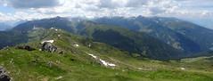Tuxer-Alpen-Panorama (bookhouse boy) Tags: berge mountains alpen alps 2019 20juli2019 tuxeralpen fügenberg hochfügen schellenbergalm loas loassattel kleinergamsstein grosergamsstein gilfert spitzlahn