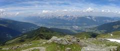 Karwendel-Panorama (bookhouse boy) Tags: berge mountains alpen alps 2019 20juli2019 tuxeralpen fügenberg hochfügen schellenbergalm loas loassattel kleinergamsstein grosergamsstein gilfert spitzlahn