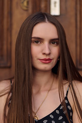 Katia (bartlomiej.chodyna) Tags: portrait model posing walk beauty summer evening photography woman girl hair bronze shadow light bydgoszcz