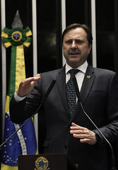 Plenário do Senado (Senado Federal) Tags: plenário sessãodeliberativaordinária senadoracirgurgaczpdtro bandeiranacional brasília df brasil