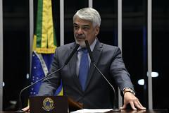 Plenário do Senado (Senado Federal) Tags: plenã¡rio sessã£odeliberativaordinã¡ria senadorhumbertocostaptpe brasãlia df brasil plenário sessãodeliberativaordinária
