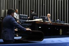 Plenário do Senado (Senado Federal) Tags: plenã¡rio sessã£odeliberativaordinã¡ria senadormarcosdovalpodemoses senadorlasiermartinspodemosrs brasãlia df brasil plenário sessãodeliberativaordinária
