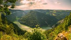 lac de moron (fabian.huesser) Tags: landscape mountain nature panorama screensaver summer wallpaper panoramic river fluss switzerland nobody nopeople