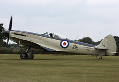 Seafire (Graham Paul Spicer) Tags: uk british shuttleworth collection oldwarden airfield airshow display aviation aircraft plane flying vickers supermarine seafire warplane fighter royalnavy ww2 military preserved vintage