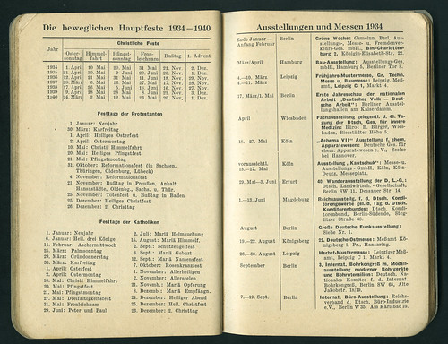ArchivDahlia11 Dahlia-Merkbuch, Berlin, 1934