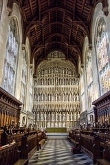 Looking east in New College, Oxford. (John Maloney 7) Tags: england oxford college chapel gothic