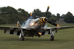 Mustang (Graham Paul Spicer) Tags: uk british shuttleworth plane us flying display aircraft aviation military collection airshow mustang warplane airfield northamerican usaaf oldwarden classic vintage fighter ww2 preserved p51