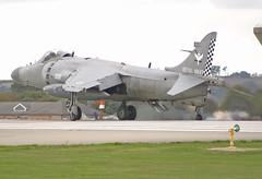 Sea Harrier (Graham Paul Spicer) Tags: hmsheron yeovilton rn navy royalnavy rnas royalnavyairstation airfield aircraft flying aviation sea harrier